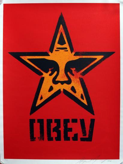 Shepard Fairey-Star Stencil-2000