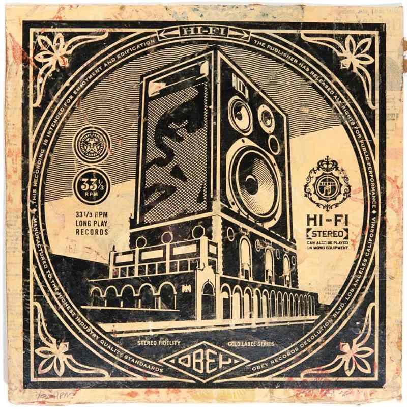 Shepard Fairey-Stereo Hi Fidelity - HPM-
