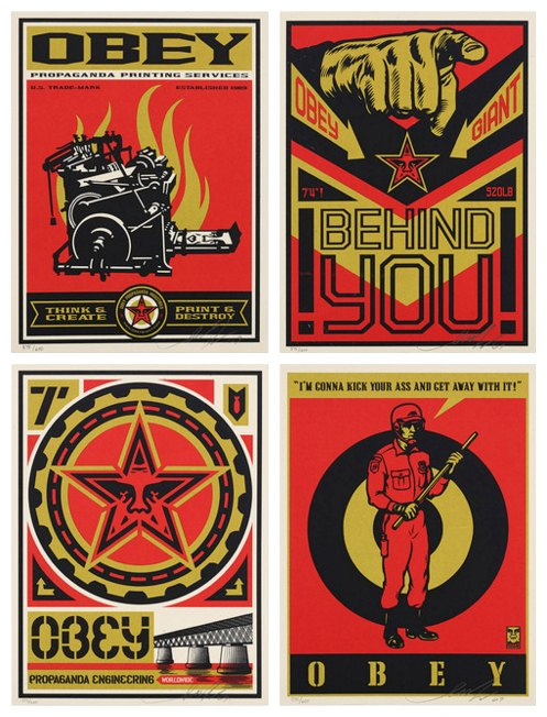 Shepard Fairey-Supply & Demand The art of Shepard Fairey Box Set-2009