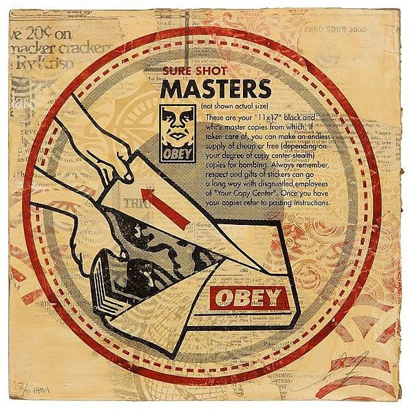 Shepard Fairey-Sure Shot Masters-2011
