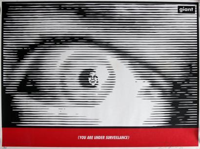 Shepard Fairey-Surveillance Eye-1996