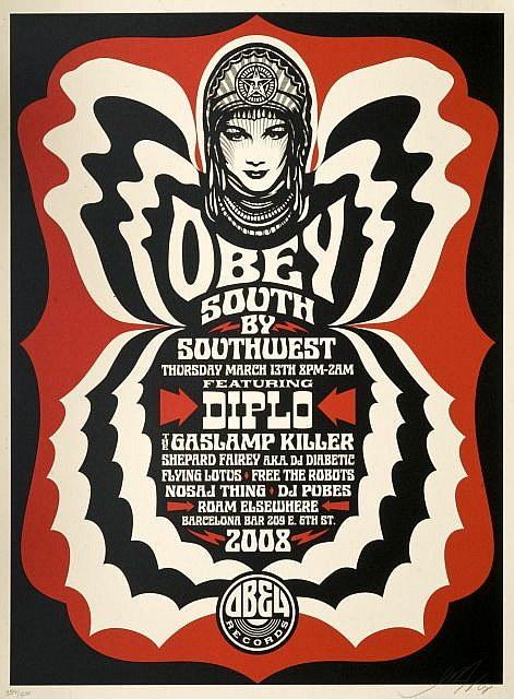 Shepard Fairey-Sxsw Austin-2008