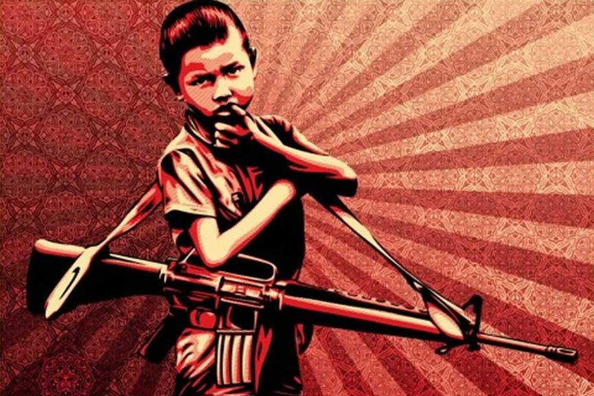 Shepard Fairey The Duality of Humanity #5