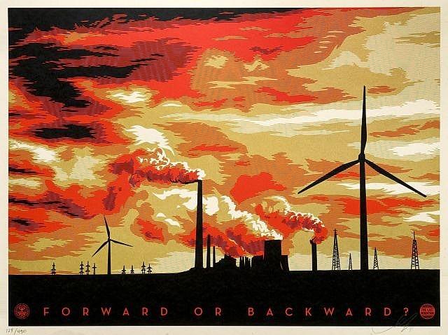 Shepard Fairey-The Last Mountain-2011