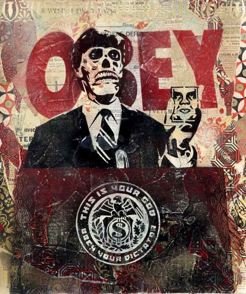 Shepard Fairey-They Live-2007