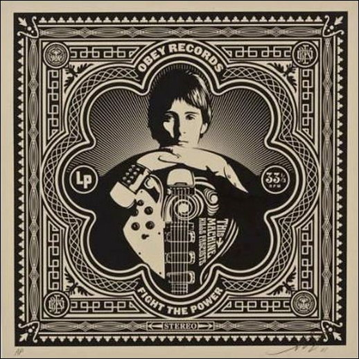Shepard Fairey-This Machine Album Cover-2011