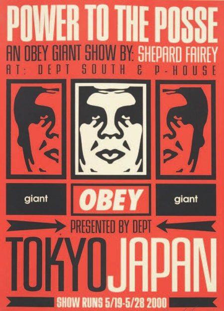 Shepard Fairey-Tokyo Show-2000
