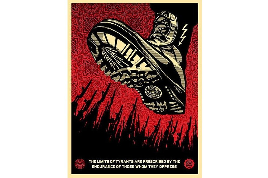 Shepard Fairey Tyrant Boot