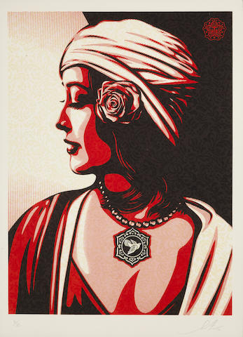 Shepard Fairey-Unititled (Harmony), from the Target Series-2012
