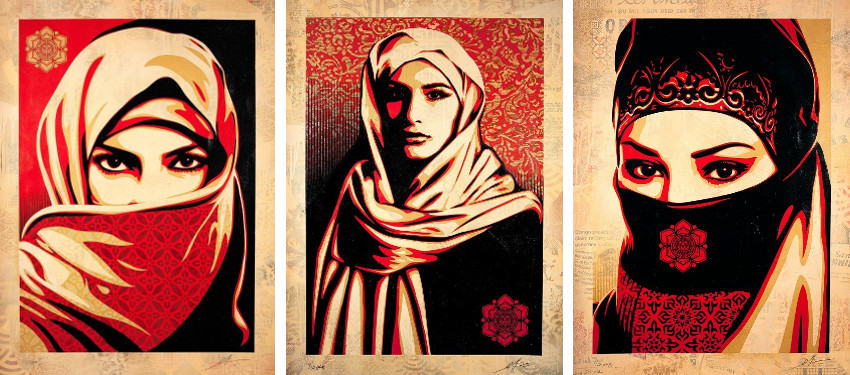 Shepard Fairey - Universal Personhood 2, 2015 - Universal Personhood 1, 2015 - Universal Personhood 3, 2015, contact the news about the articles published in 2008, 2010, 2011, 2012, 2013 and 2014, home