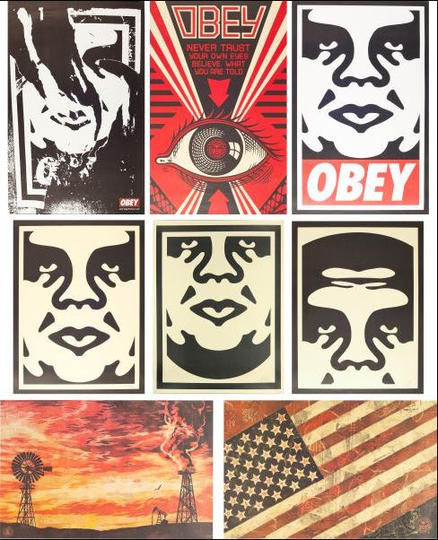 Shepard Fairey-Untitled Set-2005