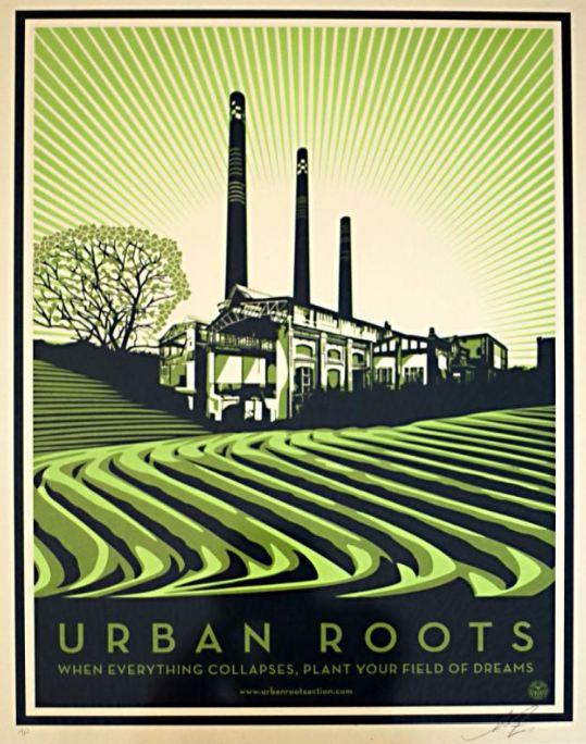 Shepard Fairey-Urban Roots-