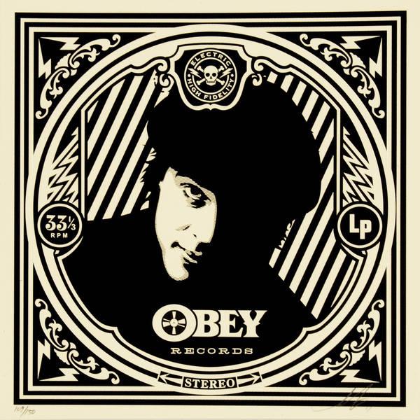 Shepard Fairey-Verlaine Album Cover-2011
