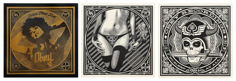 Shepard Fairey-Vinyl Box Set-