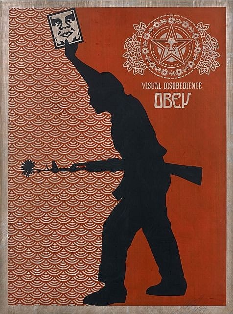 Shepard Fairey-Visual Disobedience-2004