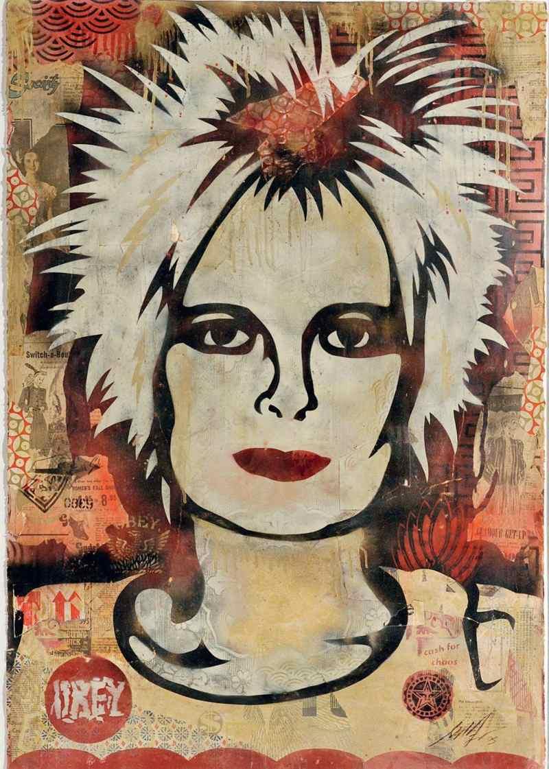 Shepard Fairey-Vivienne Westwood-2005