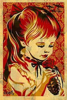 Shepard Fairey-War By Numbers Offset-2008