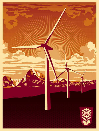 Shepard Fairey, Earth Day