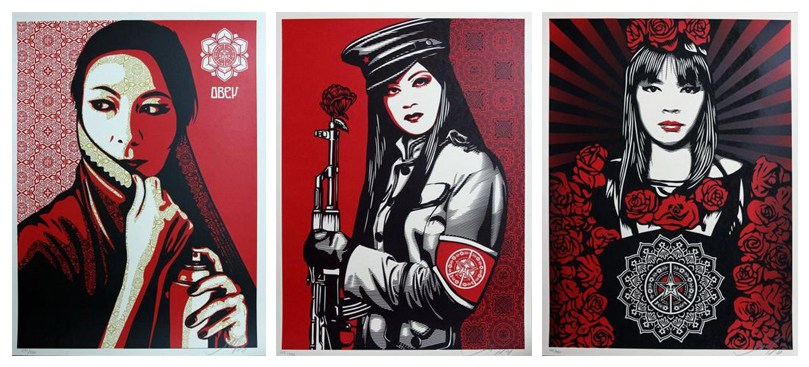 Shepard Fairey-Women Set-
