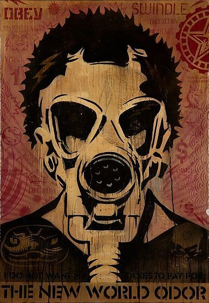 Shepard Fairey-World Odor-2005