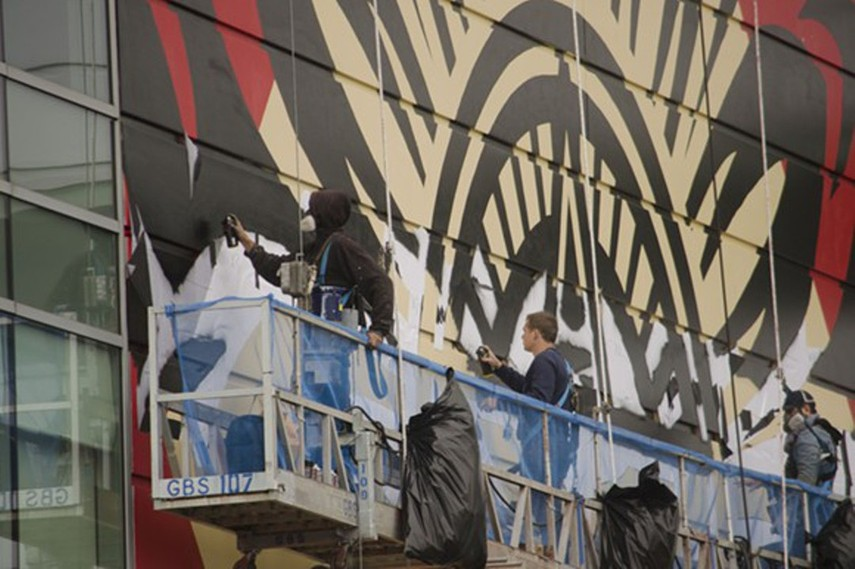 Shepard Fairey, Detroit arrest