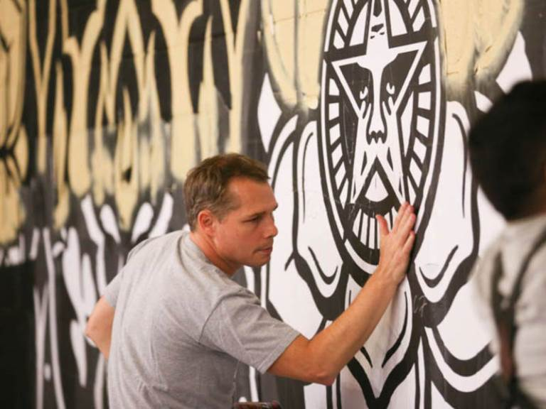 After Detroit, Shepard Fairey Arrested in LA!