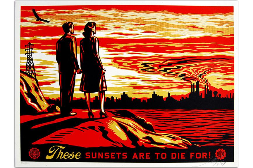 Shepard Fairey posters