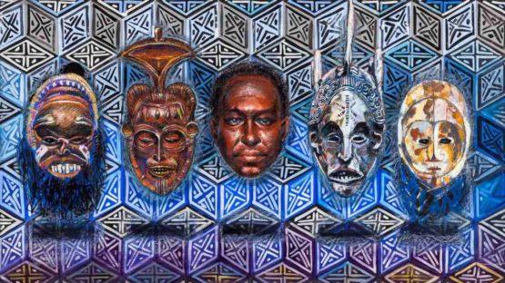 Sherman Beck - Ancestors, 1990 (detail)