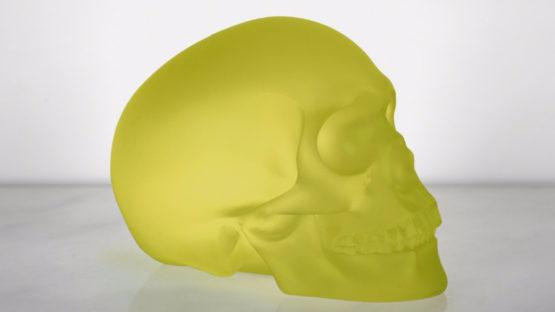 Sherrie Levine - Green Skull, 2012