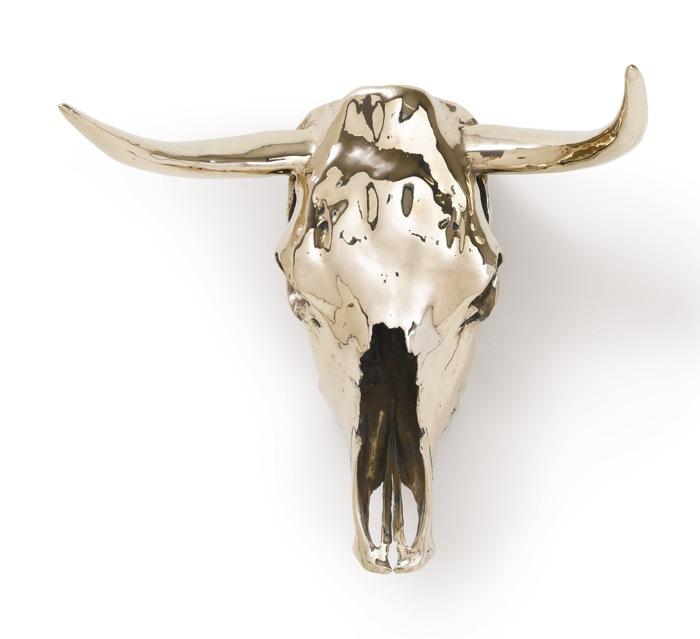Sherrie Levine-Steer Skull, Horned-2002