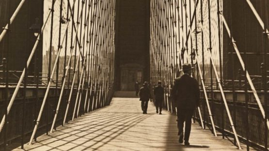 Sherril Schell - Brooklyn Bridge, 1930 (detail)