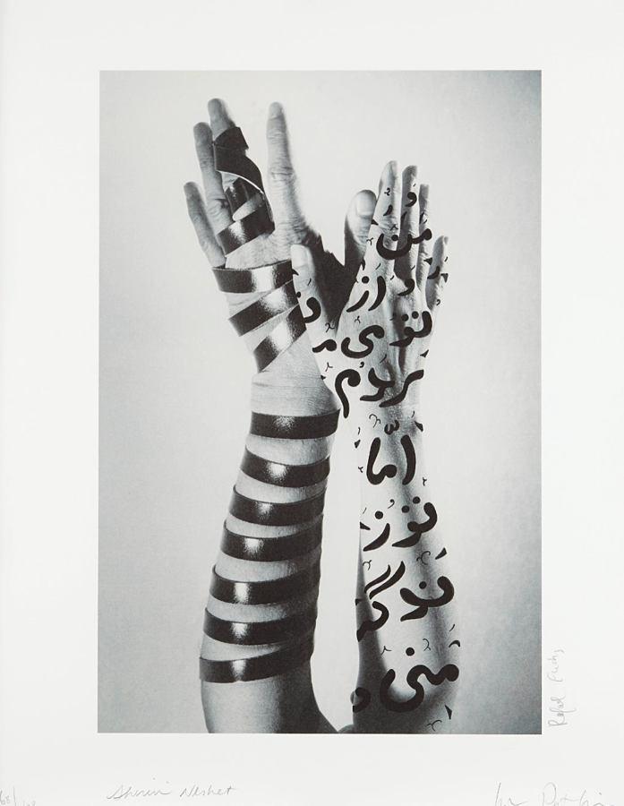 Shirin Neshat-Hands-2005