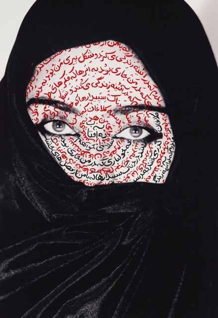 Shirin Neshat-I Am It's Secret-1993