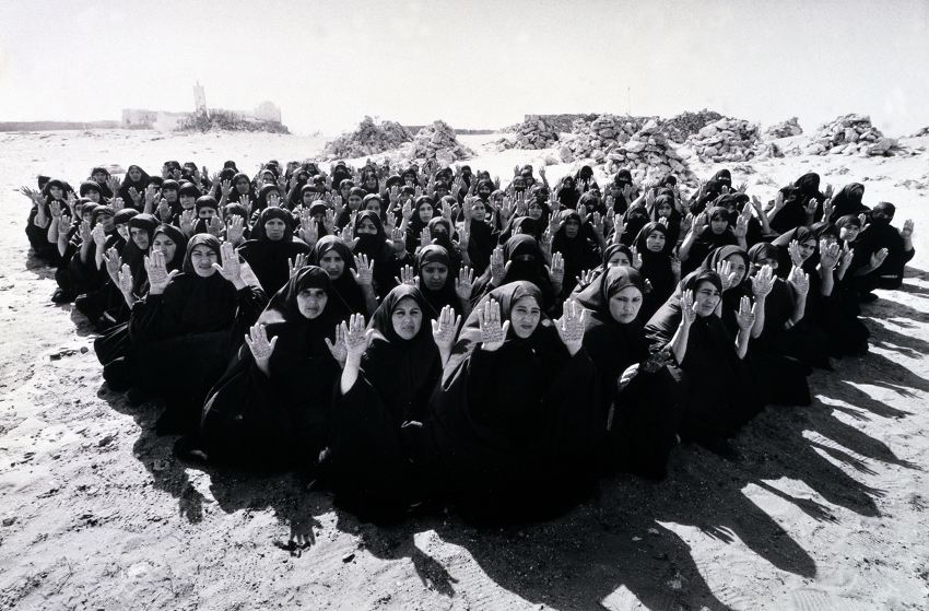 Shirin Neshat - Rapture Series, 1999 arts new home search gladstone museum 2012
