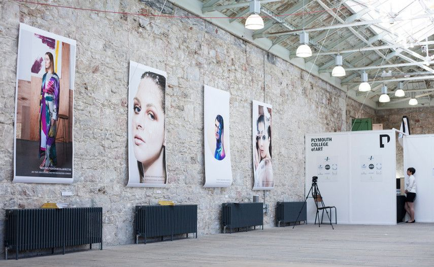 Showcasing Photography, Filming, Design and Branding in Student Curated Show at Plymouth Collage