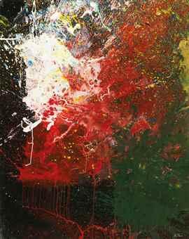Shozo Shimamoto-Untitled-2010