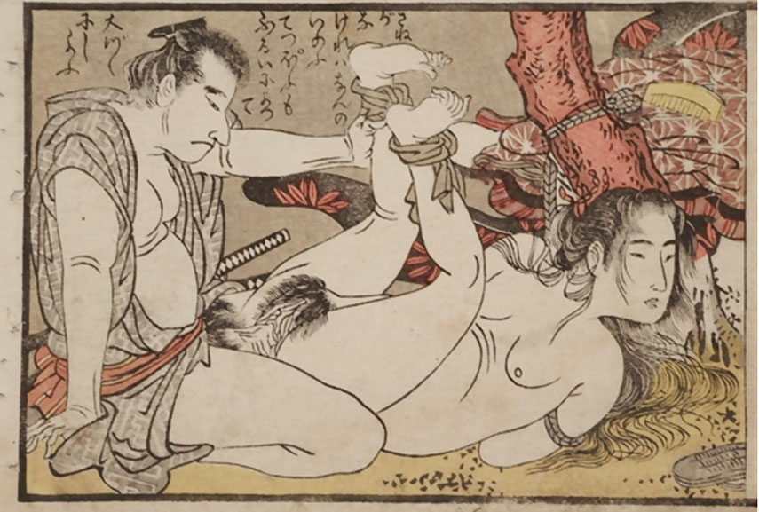 shunga depicted many sexual encounters