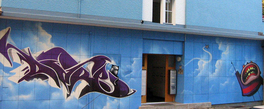 Sigi Dare von Koeding - graffiti in Bern