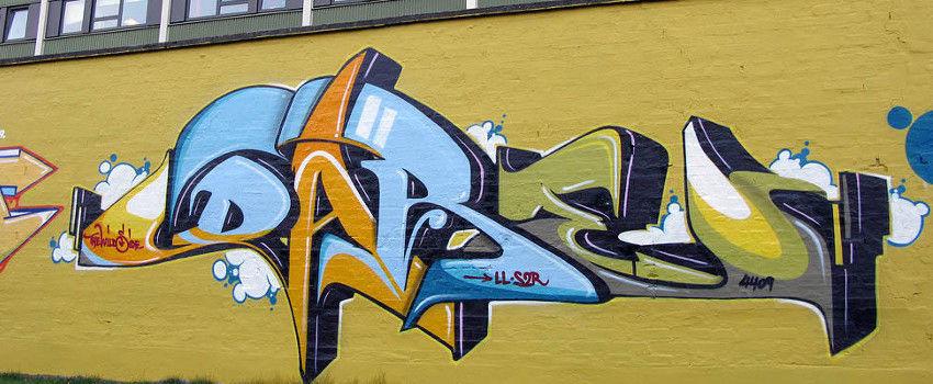 Sigi Dare von Koeding - graffiti in Kopenhagen