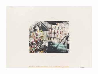 Sigmar Polke-Hauserfront; Hande-1973