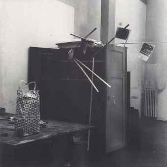 Sigmar Polke-Untitled (Atelier-Schrank)-1970
