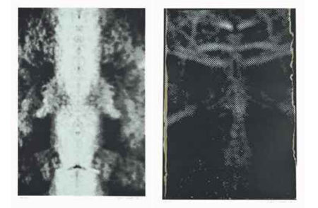 Sigmar Polke-Untitled (Mirror damage II) & Untitled (Reflection II)-1992