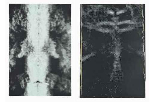 Sigmar Polke-Untitled (Mirror damage II) & Untitled (Reflection II)-1992