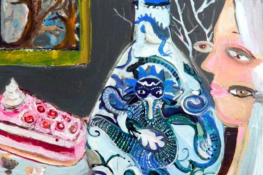 Silvia Argiolas - Famiglia Vaso Torta, detail
