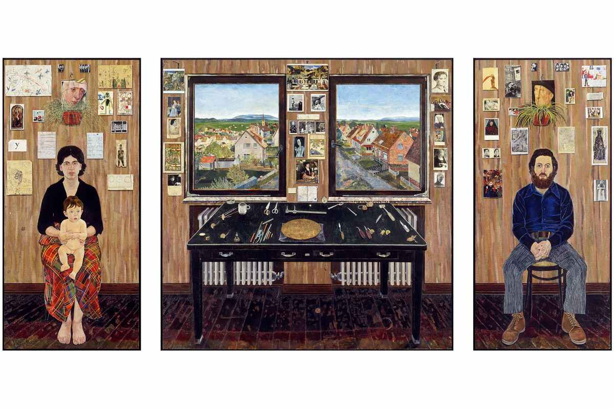 Simon Dinnerstein - The Fulbright Triptych