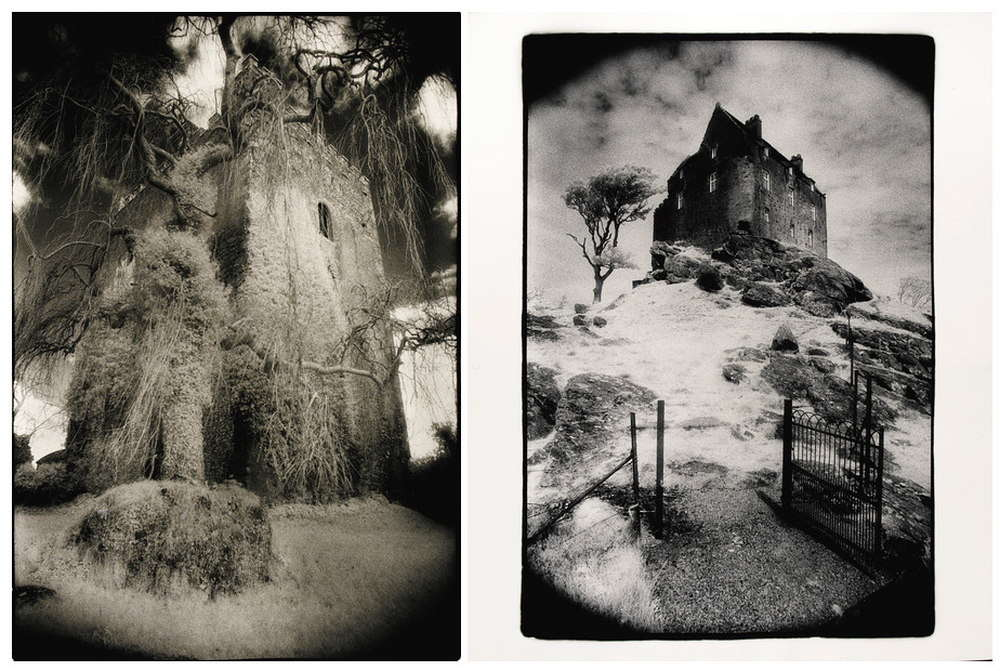 Simon Marsden-Duntroon Castle, Argyllshire, Scotland and Ballaghmore Castle, Co. Laois, Eire-1986