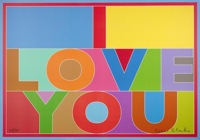 Peter Blake-I Love You-2013