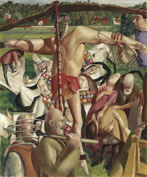 Sir Stanley Spencer - The Crucifixion