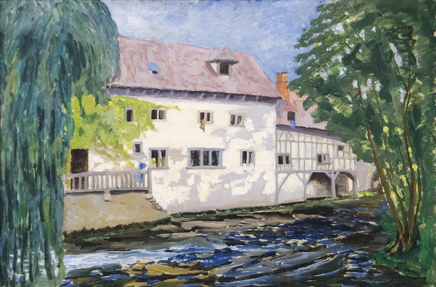 Sir Winston Churchill - The Mill at St Georges-Motel, 1930
