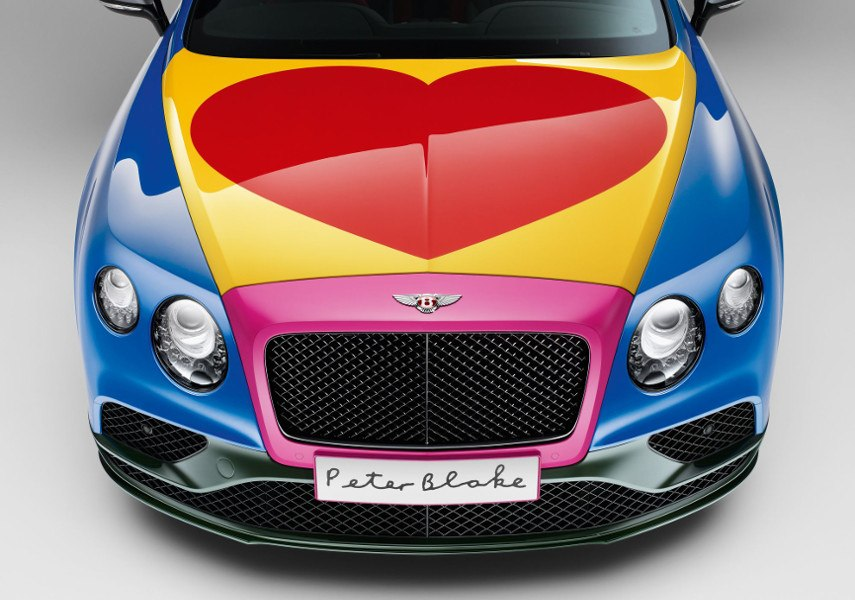 Sir peter Blake's 2016 continental bentley cars